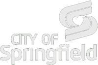 city of springfield logo: text and giant stylized s